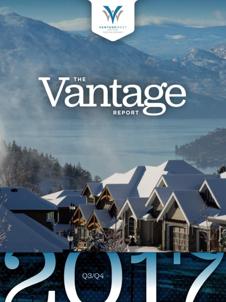 The Vantage Report - Kelowna Real Estate