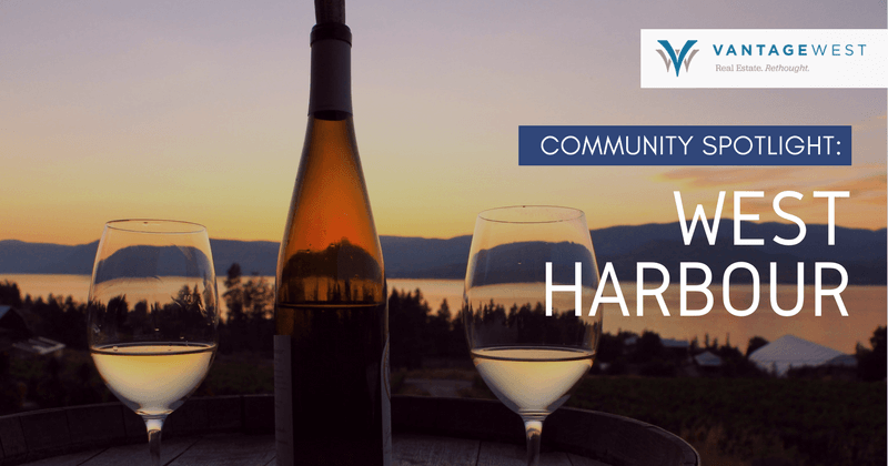 West Harbour homes in Kelowna, BC
