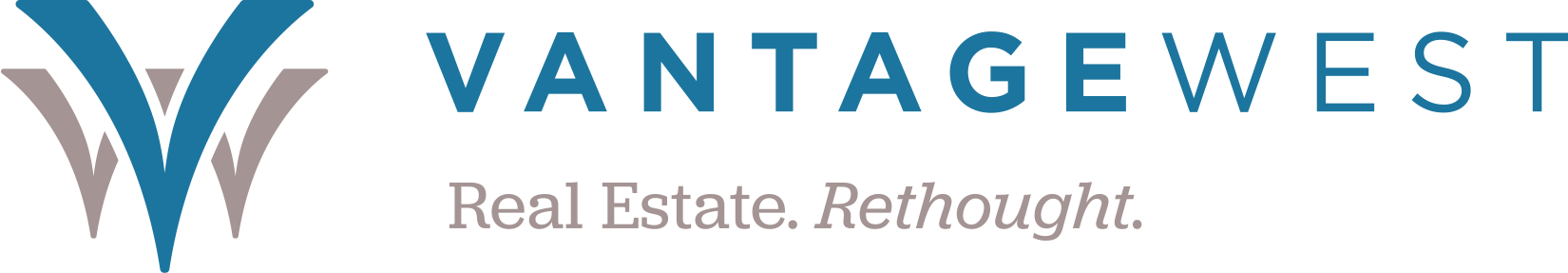 Vantage West Real Estate logo