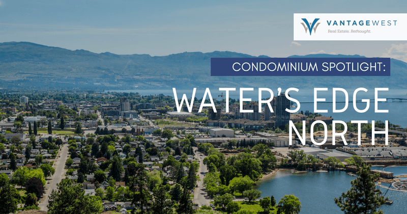 Water's Edge North condominiums in Mission, Kelowna